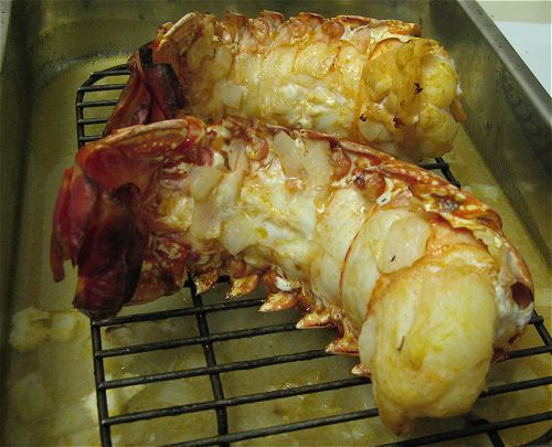Lobster tails grill how to cook