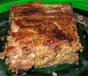 Italian-style barbecue meatloaf