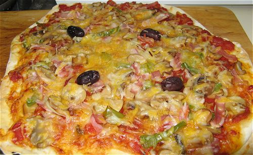 My home-made pizza
