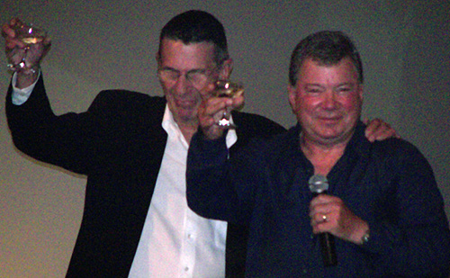 Nimoy and Shatner today