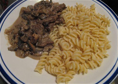 Beef Stroganoff